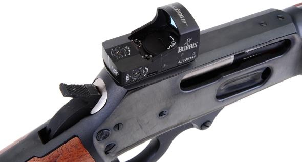 Real guns quick sights for the marlin 1895