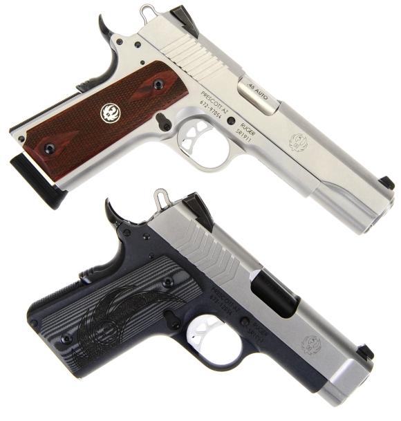Ruger's SR1911 Lightweight Officer-Style 9mm | Real Guns - A