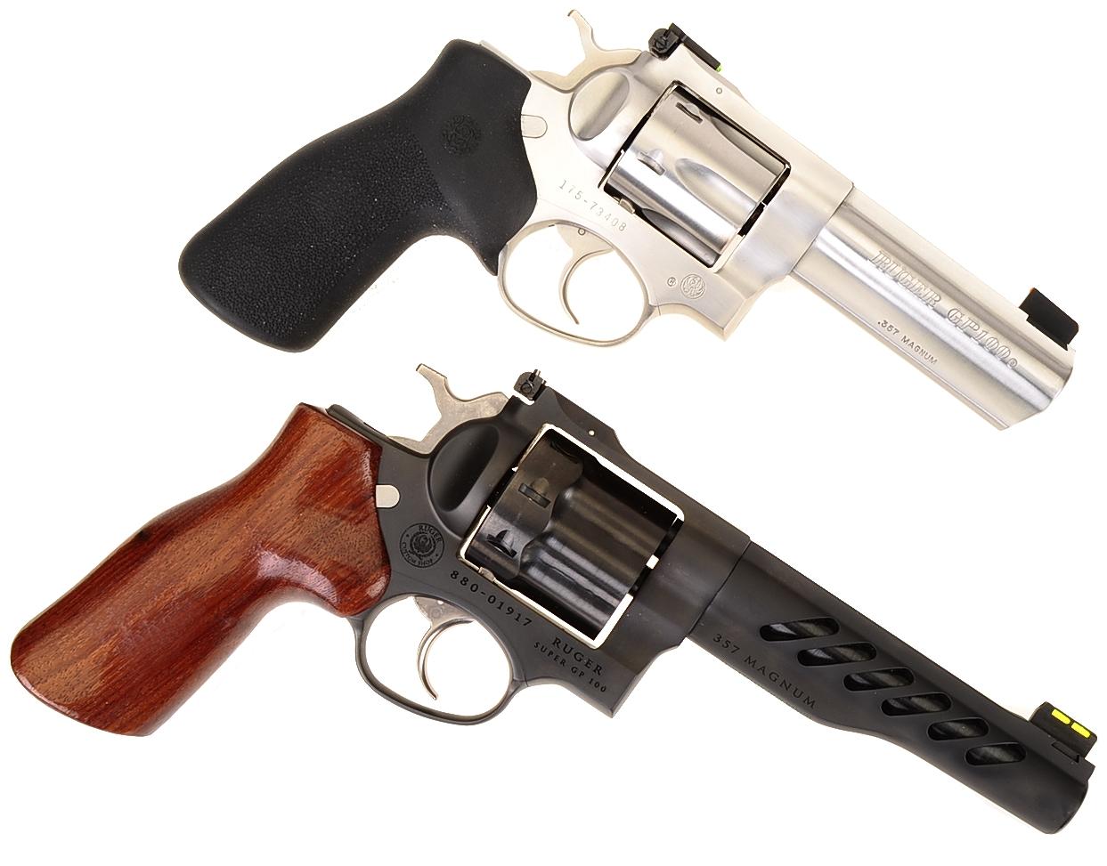 Ruger's New Custom Shop Super GP 100 357 Magnum   Real Guns