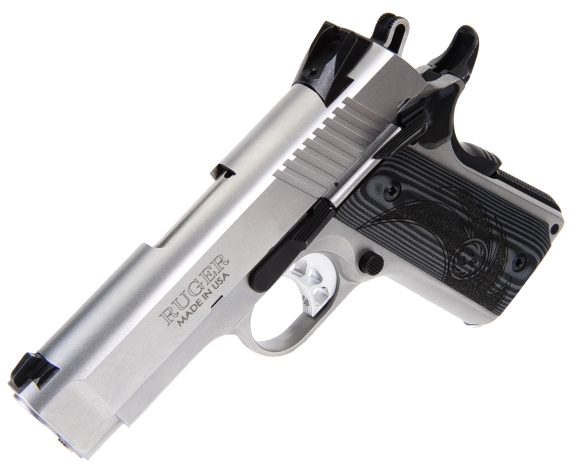 Ruger's SR1911 Officer-Style 45 Automatic