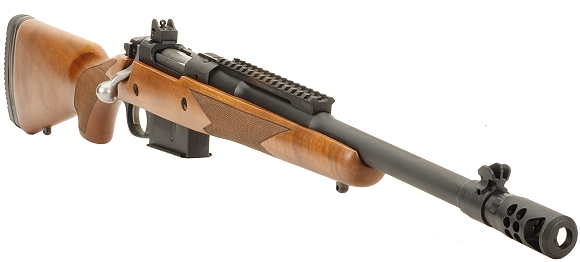Ruger's Scout Rifle 450 Bushmaster Part I As deadly as its namesake... but about 9 feet shorter