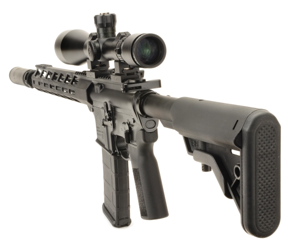 Ruger AR-556 in 5.56 NATO Part II Light to heavy handloads and the return of 3X
