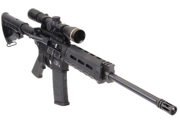 Smith & Wesson's M&P 15 Sport II OR M-LOK Basic model, not a beginner's model