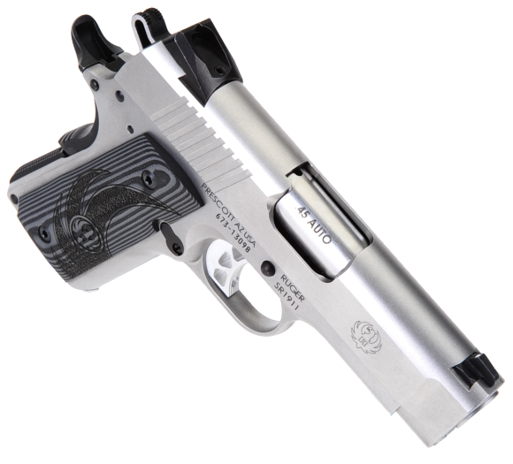 Ruger's SR1911 Officer-Style 45 Automatic   Real Guns - A